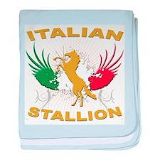 Italian Stallion Infant Blanket