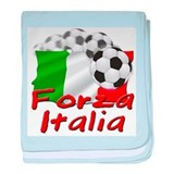Italian Soccer Infant Blanket