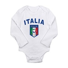 Forza Italia Long Sleeve Infant Bodysuit