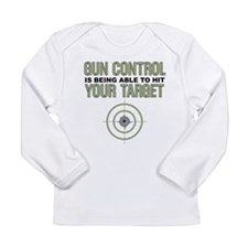 Gun Control Long Sleeve Infant T-Shirt