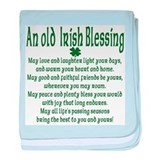 Old irish Blessing Infant Blanket