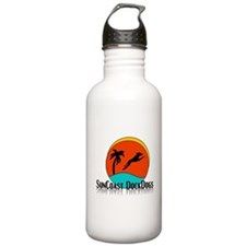 SunCoast DockDogs Shadow Logo Water Bottle