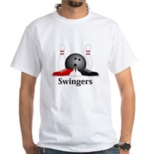 Swingers Logo 15 Shirt Design Front Center