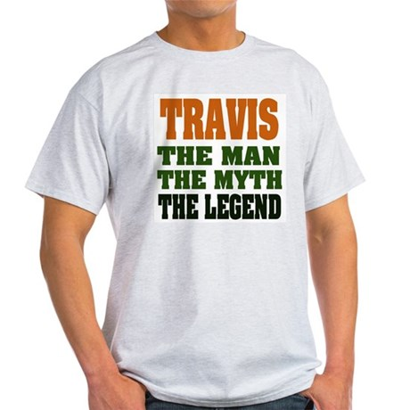 TRAVIS - The Legend Ash Grey T-Shirt