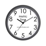 'Metric' Clock