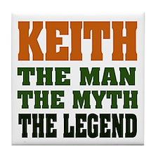 KEITH - The Legend Tile Coaster