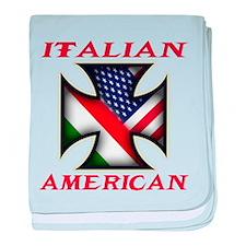 Italian american Pride Infant Blanket
