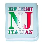 New Jersey Italian Infant Blanket