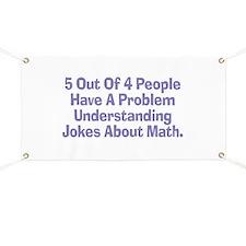 Math Jokes Banner