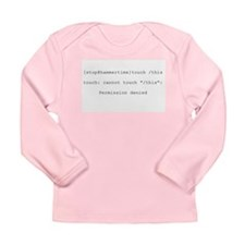 Cute Hammer time Long Sleeve Infant T-Shirt