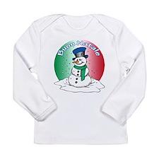 Buon Natale Long Sleeve Infant T-Shirt