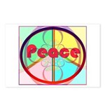 Abstract Peace Sign Postcards (Package of 8)