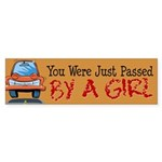 Passed By a Girl Bumper Sticker