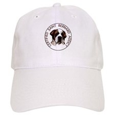 saint bernard addict Baseball Cap
