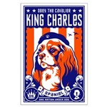 Obey the Cavalier King Charles! Large Poster