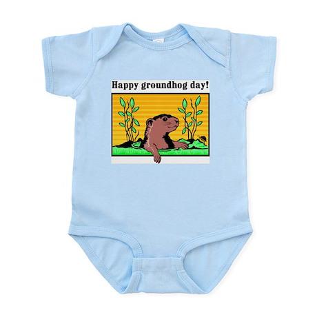 Happy groundhog day! Infant Creeper