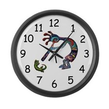 Kokopelli Large Wall Clock
