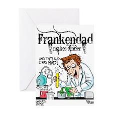 """FrankenDad"" Greeting Card"