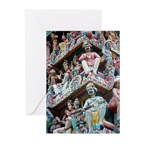 Hindu Temple - Singapore Greeting Cards (Pk of 20)