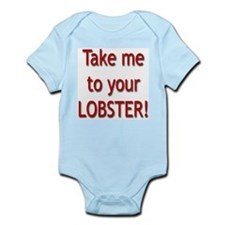 """Take Me To Your Lobster!"" Infant Creeper"