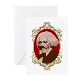 Portrait of Frederick Douglas Greeting Cards (Pack
