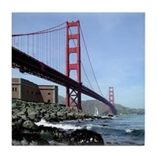 Golden Gate Tile Coaster