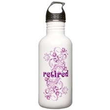 Retired Sports Water Bottle