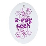 X-Ray Tech Ornament (Oval)