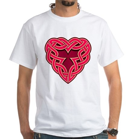 Chante Heartknot White T-Shirt