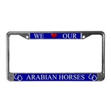 Blue We Love Our Arabian Horses Frame