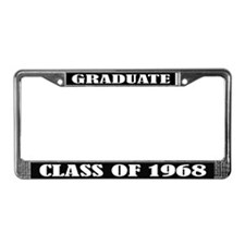 Class of 1968 License Plate Frame
