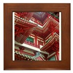 Singapore Buddha Tooth Temple Framed Tile