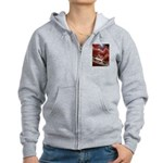 Singapore Buddha Tooth Temple Women's Zip Hoodie