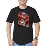 Singapore Buddha Tooth Temple Men's Fitted T-Shirt
