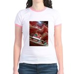 Singapore Buddha Tooth Temple Jr. Ringer T-Shirt