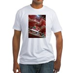 Singapore Buddha Tooth Temple Fitted T-Shirt