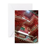 Singapore Buddha Tooth Temple Greeting Card