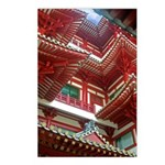 Singapore Buddha Tooth Temple Postcards (Package o