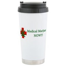 Medical Marijuana Now! Ceramic Travel Mug