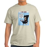 Light T-Shirt I run Linux