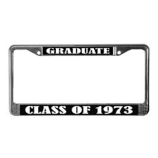 Class of 1973 License Plate Frame