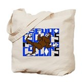Break Dancing Bigfoot Tote Bag