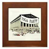 """Toga Party"" Framed Tile"