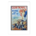 Clear the Way Poster Art Postcards (Package of 8)