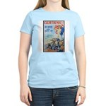 Clear the Way Poster Art (Front) Women's Pink T-Sh