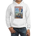 Clear the Way Poster Art (Front) Hooded Sweatshirt