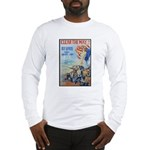 Clear the Way Poster Art Long Sleeve T-Shirt