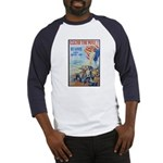 Clear the Way Poster Art (Front) Baseball Jersey