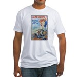 Clear the Way Poster Art Fitted T-Shirt