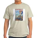 Clear the Way Poster Art Ash Grey T-Shirt